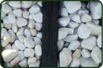 piedra decorativa rodado en Viveros Coronado en Navalcarnero, Madrid