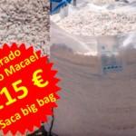 Oferta piedra blanco macael. Viveros Coronado en Navalcarnero, Madrid