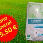 Oferta de abono mineral en Madrid. Viveros Coronado