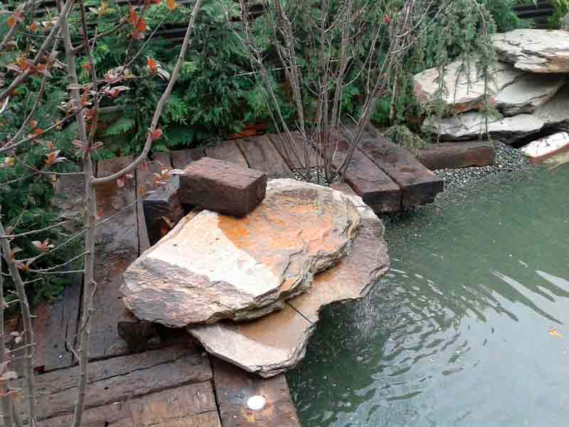 Decoracion de jardines para tu chalet viveros coronado - Comprar piedras jardin ...