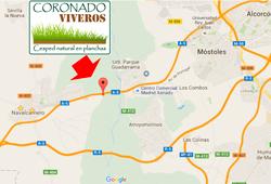 Como llegar a Viveros Coronado en Navalcarnero, Madrid